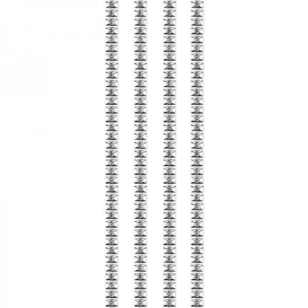 """Premium-Schmuck-Bordüren """"Bracelet 11"""", selbstklebend, 29cm, silber"""