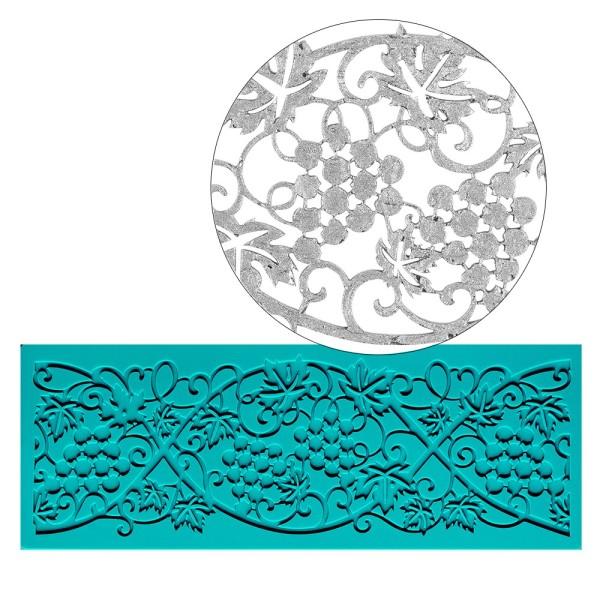 Silikon-Dekormatte, Design 19, 18,7cm x 6,9cm x 0,3cm