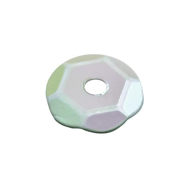 Pailletten, irisierend, 15 g, Ø6 mm, hellmint
