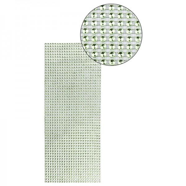 Schmuck-Netz, selbstklebend, 12cm x 30cm, grün