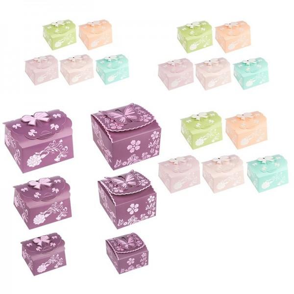 Glückstreffer-Set, Zier-Faltboxen