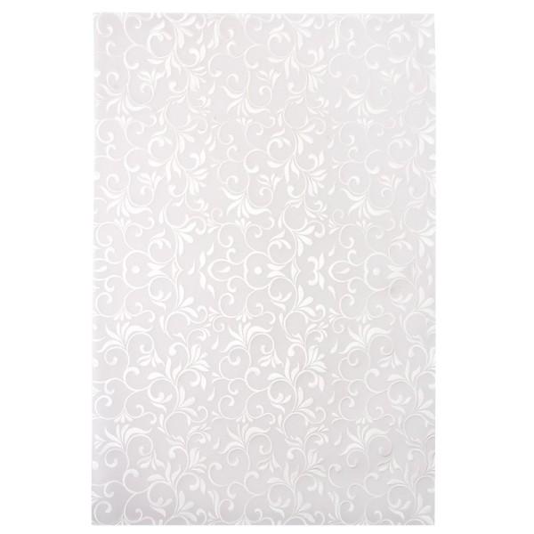 Transparentpapier, Noblesse 2, mit Top-Prägung & Perlmuttlack, DIN A4, 10 Bogen