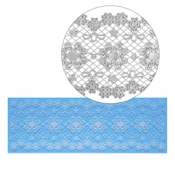 Silikon-Dekormatte, Design 2, 31cm x 11cm x 0,2cm