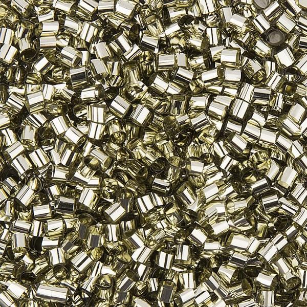 Metallic-Rondelle, Streu-Deko, 15g, gold