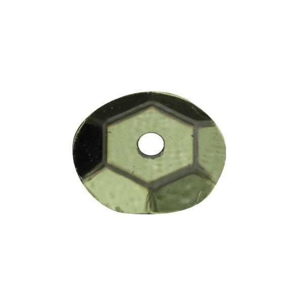 Pailletten, metallic, 15 g, Ø6 mm, dunkelgrün