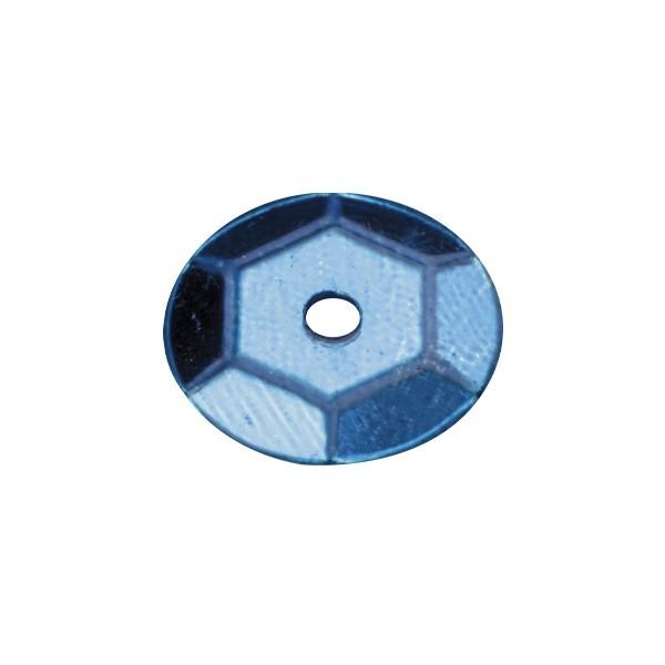 Pailletten, metallic, 15 g, Ø6 mm, dunkelblau