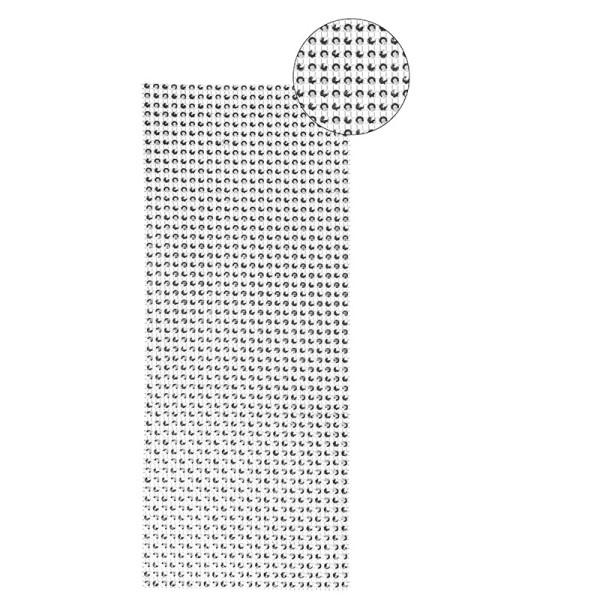 Schmuck-Netz, selbstklebend, 12 x 30 cm, Bi-Color, silber/silber