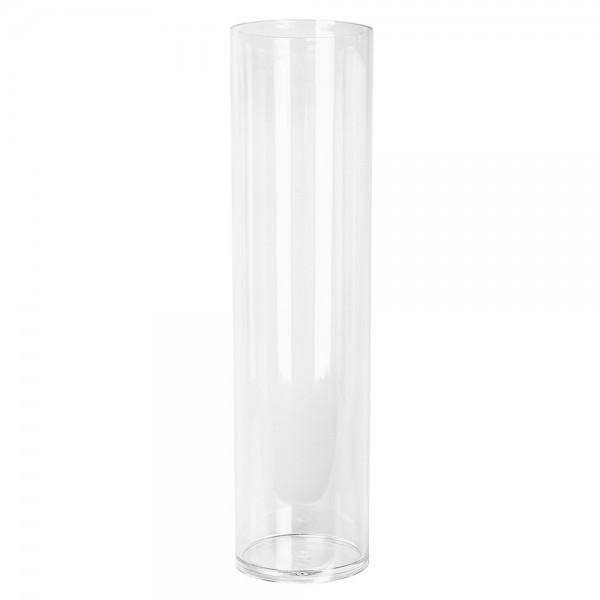 """Vase """"Zylinder"""", Ø 10cm, 37,8cm hoch, transparent, klar"""