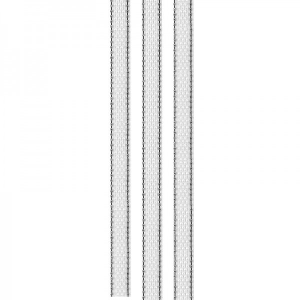 """Premium-Schmuck-Bordüren """"Glamour 4"""", selbstklebend, 29cm, silber/perlmutt"""