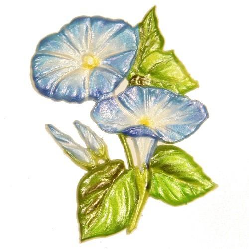 Wachsornament Ackerwinde, 8,5 x 6 cm
