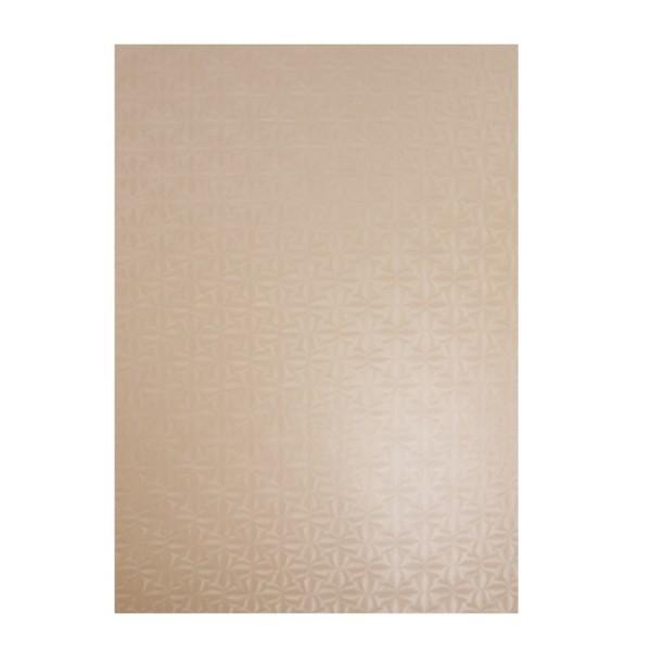 Perlmuttglanz-Karton, 2-seitig, DIN A4, 10 Bogen, pfirsich