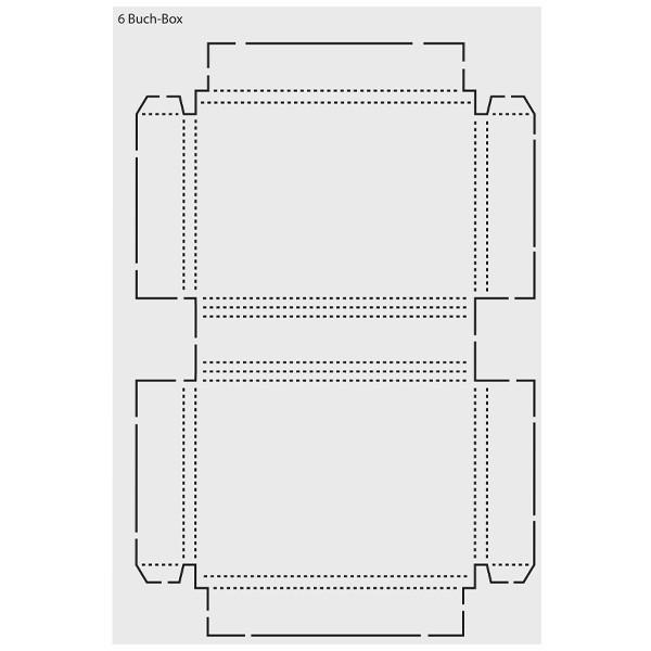"Design-Schablone ""Buch-Box"", DIN A3"