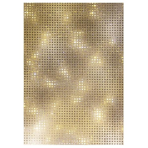 Lichteffekt-Folie, Kristall, DIN A5, 10 Stück
