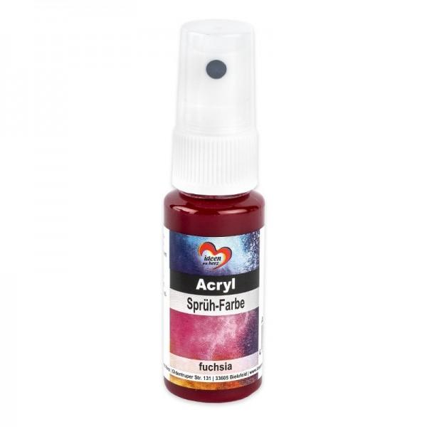 Acryl-Sprüh-Farbe, 25ml, fuchsia