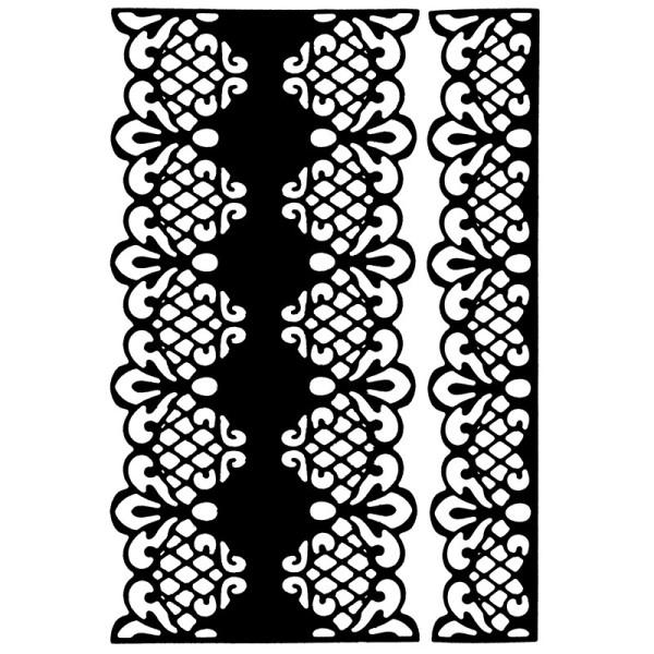 Stanzschablonen, Bordüren 4, 2 Stück