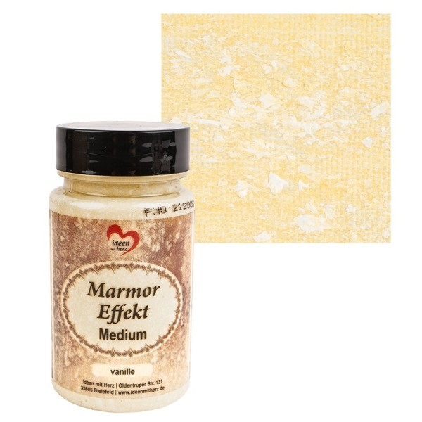 Marmor-Effekt-Medium, vanille, 90ml
