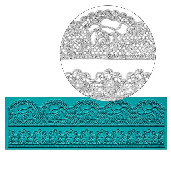 Silikon-Dekormatte, Design 37, 30cm x 10cm x 0,2cm