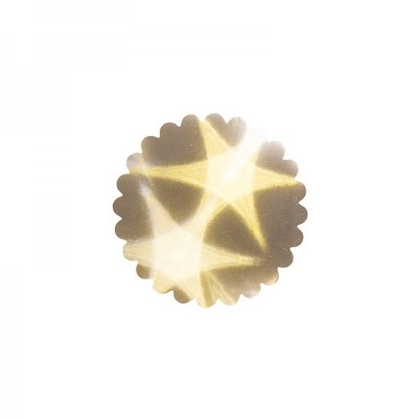 Lichteffekt-Stanzornament, Stern-Effekt, Ø9cm, 20 Stück