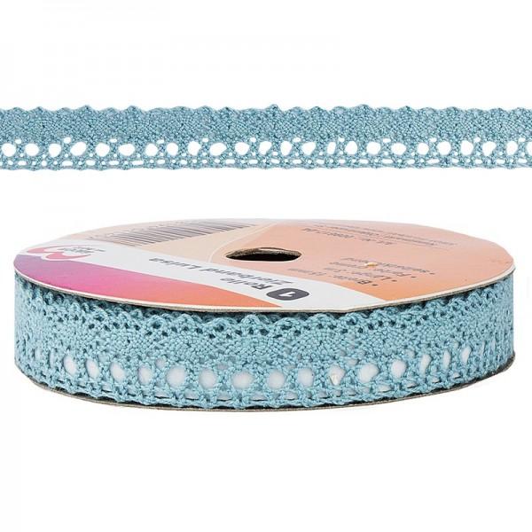 Zierband Luisa, 3m lang, 15mm breit, selbstklebend, blau