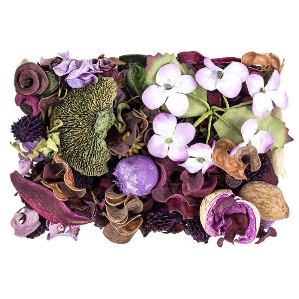 Edel-Potpourri, Lavendel, 200g, violett, grün, natur