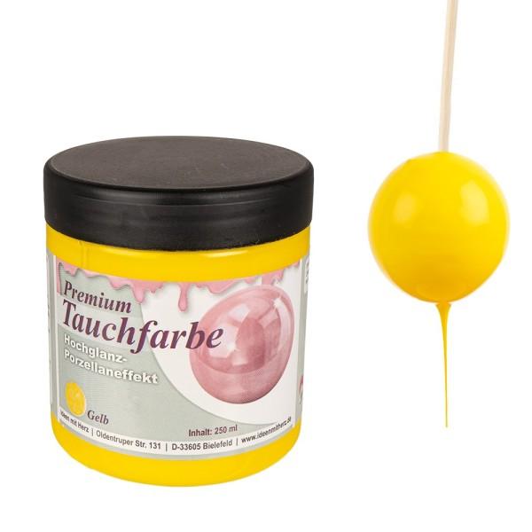 Premium-Tauchfarbe, Gelb, 250ml