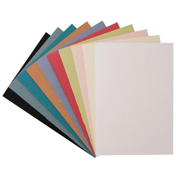 """30er Grußkarten-Set, """"Borneo"""", C6, 10 Farben"""
