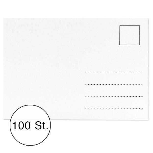 Postkarten, 10,5cm x 14,8cm, 300 g/m², 100 Stück
