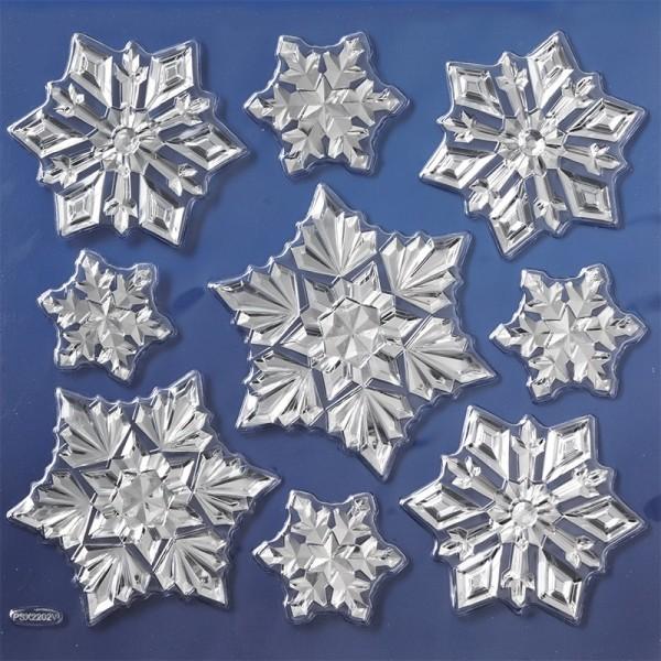 Spiegel-Relief-Sticker, Winter 3, 17,5 x 17,5 cm
