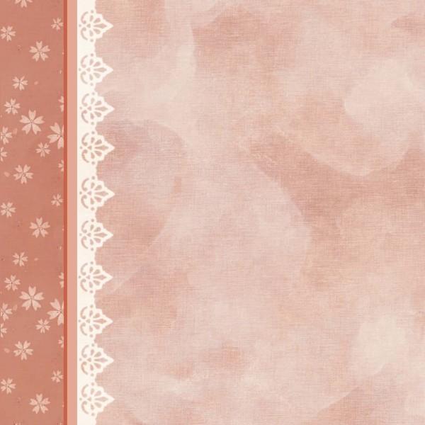Lichteffekt-Grußkarte Zierdeckchen, 16 x 16 cm