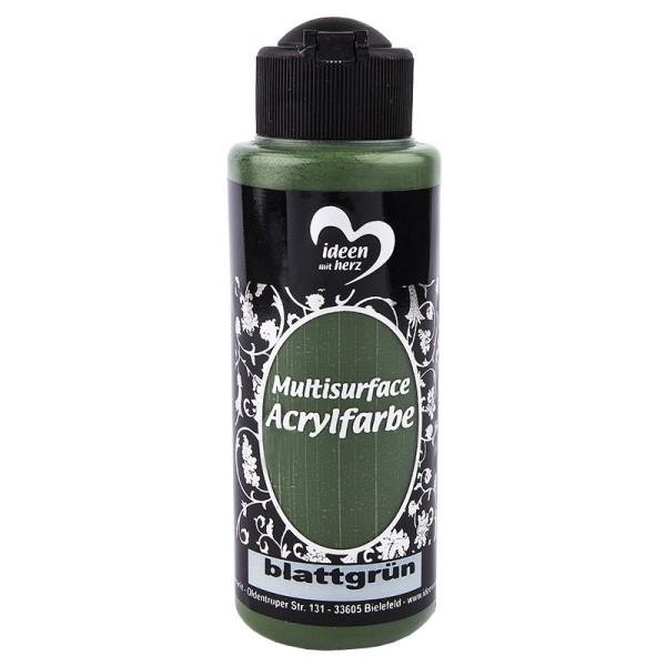 """Acrylfarbe """"Multisurface"""", blattgrün, 120ml"""