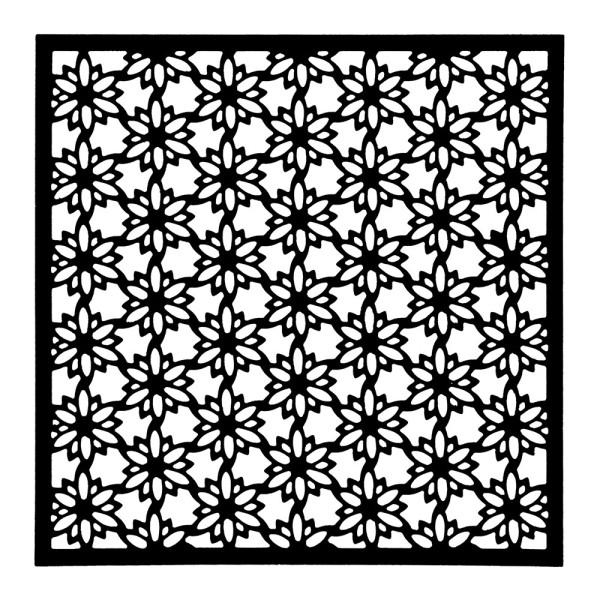 Stanzschablone, Hintergrund 8, 13,8cm x 13,8cm