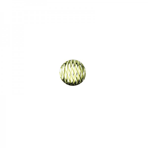 Hot-Fix Relief-Nieten zum Aufbügeln, Ø 6mm, hellgrün, 200 Stück