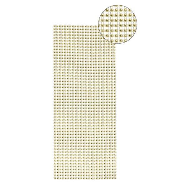 Schmuck-Netz, selbstklebend, 12 x 30 cm, gold, Design 9