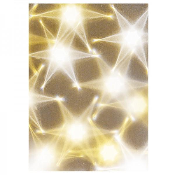 Lichteffekt-Folie, Hexagon, DIN A5, 10 Stück