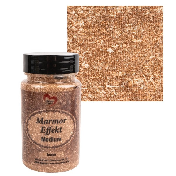 Marmor-Effekt-Medium, braun, 90ml