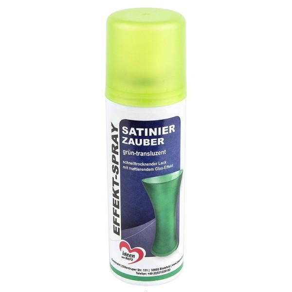 Effekt-Spray Satinier-Zauber, grün-transluzent, 125ml