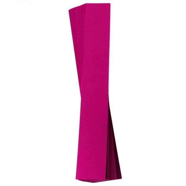 Papierstreifen, 4 x 30 cm, 120 g/m², fuchsia, 50 Stück