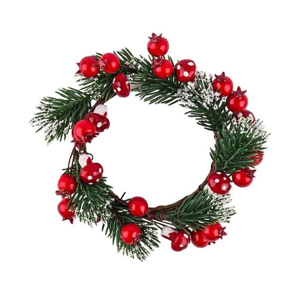 Deko-Kranz, Weihnachten 2, Ø 12cm