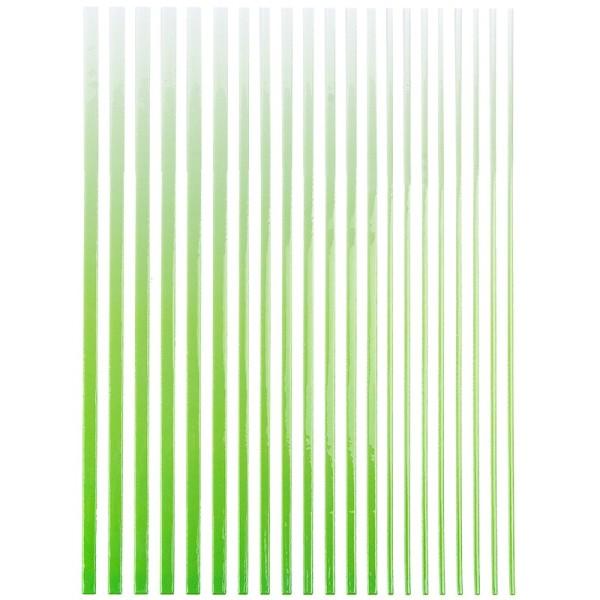"""3-D Sticker-Bordüren """"Farbverlauf"""", 28,5cm, verschiedene Breiten, grün/hellgrün"""