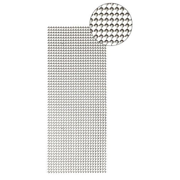 Schmuck-Netz, selbstklebend, 12 x 30 cm, silber, Design 18