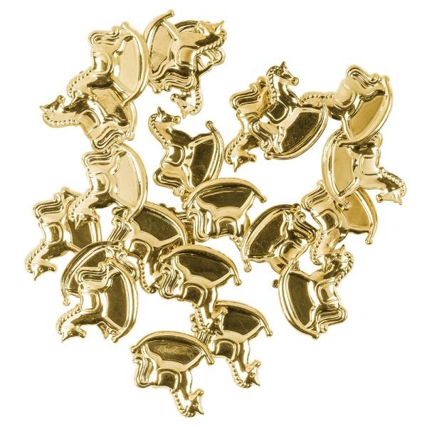Messing Ornamente, Schaukelpferd, 20 Stück
