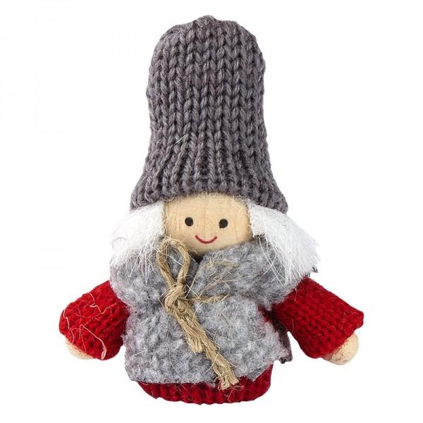"""Winter-Püppchen, Design 10 """"Pia"""", 7cm hoch"""