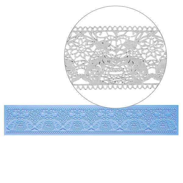 Silikon-Dekormatte, Design 11, 39cm x 7cm x 0,2cm