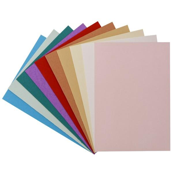 "30er Grußkarten-Set, ""Florida"", C6, 10 Farben"