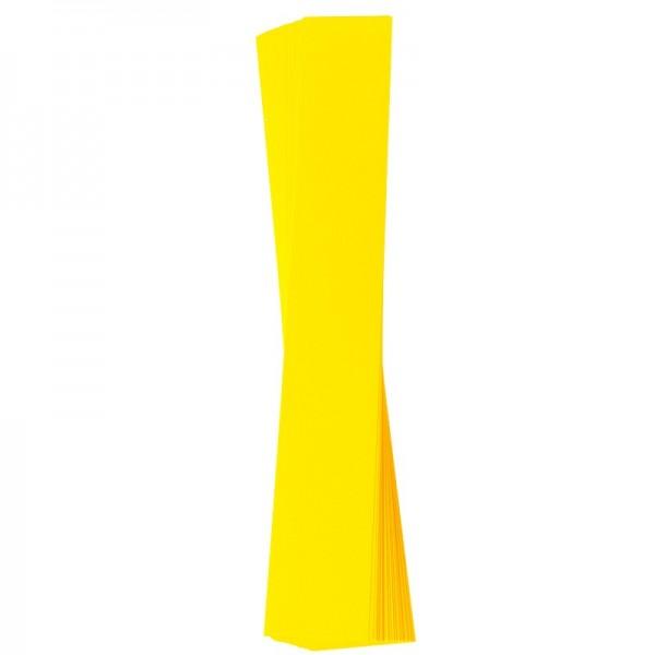 Papierstreifen, 4 x 30 cm, 120 g/m², gelb, 50 Stück