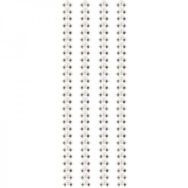 "Premium-Schmuck-Bordüren ""Gloria 1"", selbstklebend, 29cm, perlmutt"