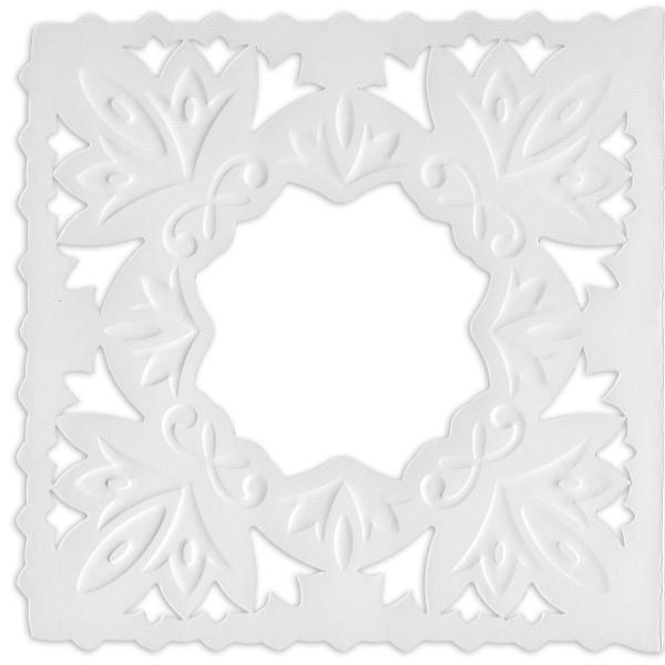 Ornamentik-Grußkarten, 14x14cm, 10 Stück, Design 6
