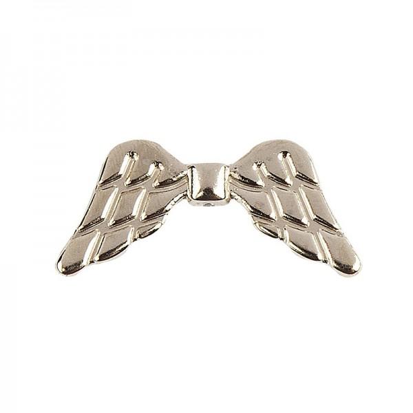 Engelsflügel, Design 1, 1,9cm, hellgold, 30 Stück