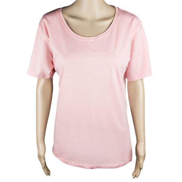Damen T-Shirt, rosa, Größe XXL
