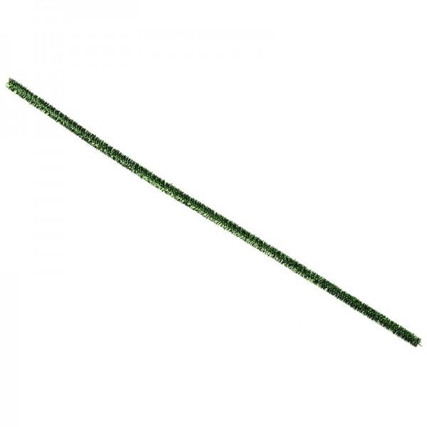 Pfeifenreiniger Metallic, 30cm lang, grün, 10 Stück